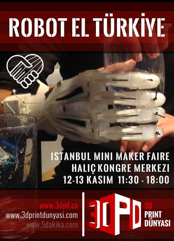 İstanbul Maker Faire Robotel Tanıtımı