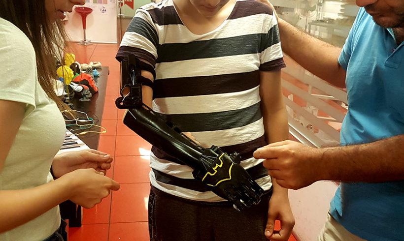 Efe'nin Roboteli İTÜ takımından