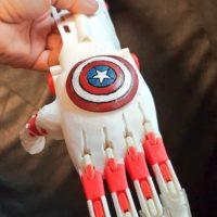 Mehmet Efe'nin Kaptan Amerika Roboteli