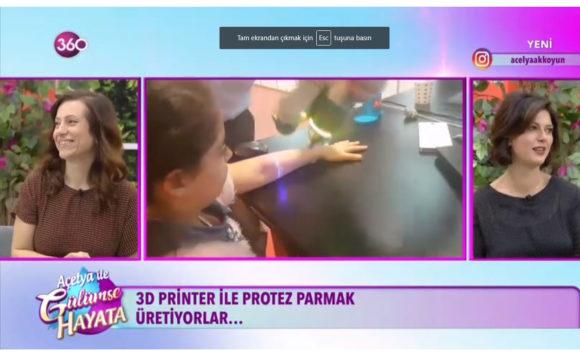 Açelya ile Gülümse Hayata – 360 TV
