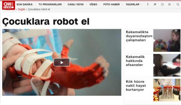 Robotel CNN Türk Haberi – Mart 2018