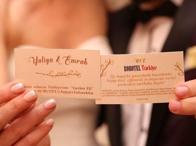 Düğünlerinde Robotel Türkiye' ye destek vermeyi tercih eden Yuliya & Emrah çiftinden nefis pozlar geldi… tekrar teşekkürler! 💝🙆♀️🤩