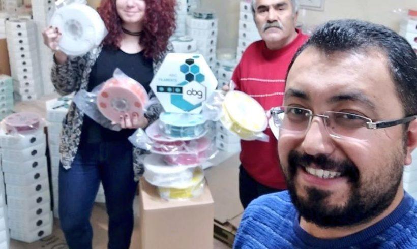 Müjdeli haberimiz var! Artık kardeşlerimizin ellerinde rengarenk ABG Filament malzemeler kullanacağız, kendileri büyük bir cömertlik ile malzeme sponsorumuz olmayı önerdi. Teşekkürler ABG ve ekibi! 🙆♀️💪♥️🤗⭐