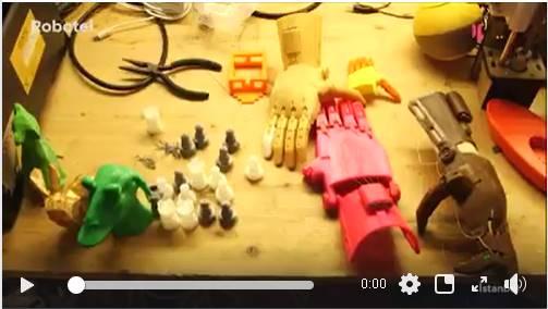 Robotel Türkiye ile ilgili @elapromedia hazırladığı videoyu izlediniz mi? #sosyalfayda için #Teknoloji #3dprint #Robotel