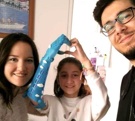 Karşınızda Elifsu ve #Robotel Ankara ekibi gönüllülerimiz…