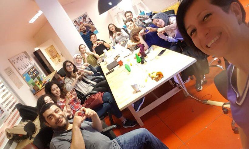 Robotel Türkiye Kasım buluşmasında hem yeni gönüllüler hem @itu_ieee ekibinin #Robotel takımı ile bir araya geldik.