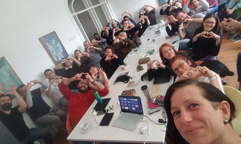 #sosyalfayda için #Teknoloji paylaşmak, paylaştıkça çoğalmak için Marjinal ekibiyle birlikteydik