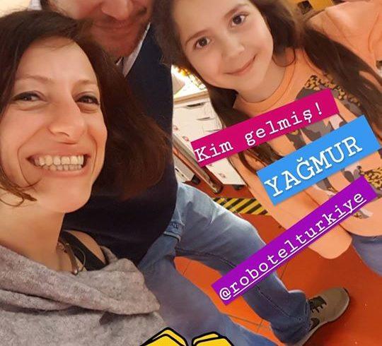 Robotel Türkiye ilklerinden Yağmur ve ailesi ile birlikteyiz