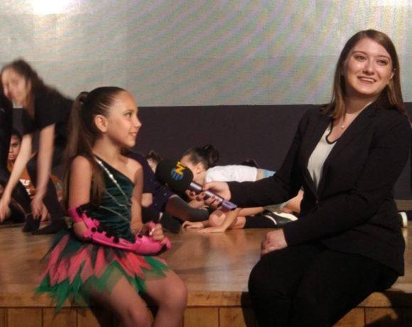 Robotel ailemizin yıldızı Yağmur'umuzun pembeli #robotel ile dans resitalinde  NTV ekibi çekimdeydi